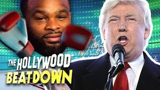 Tyron Woodley Wants to Throw a Haymaker at President Trump | The Hollywood Beatdown