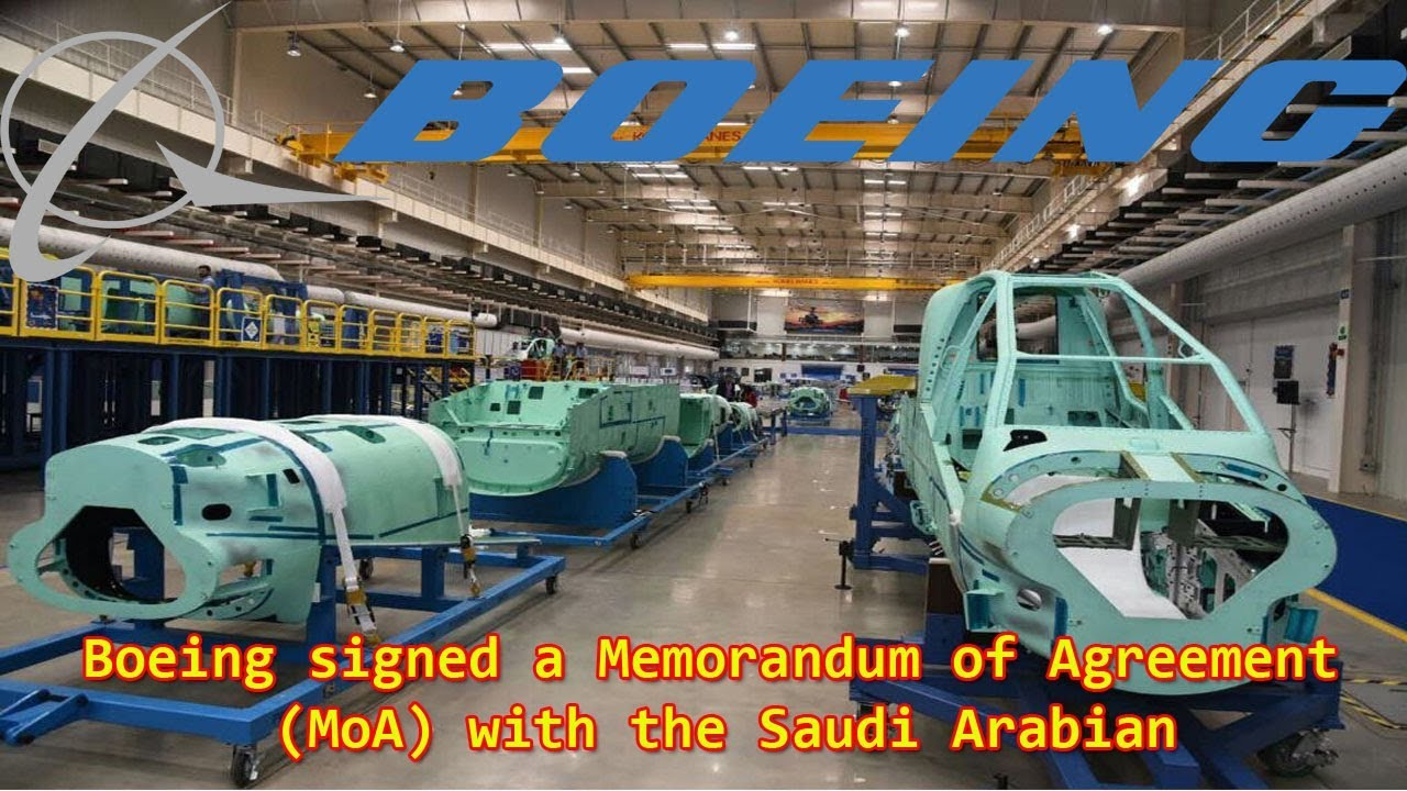 Boeing, Saudi Arabian Military Industries to Set up Aircraft, Helicopter  MRO Joint Venture