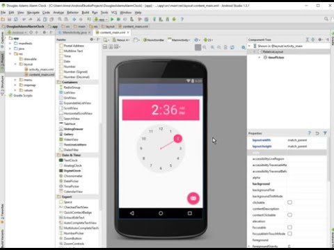 android-alarm-clock-tutorial:-part-1,-demo-and-user-interface