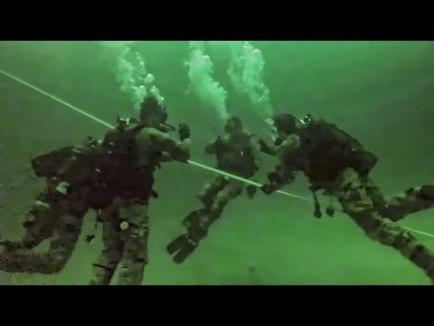 Special Forces Group Combat Divers • Re-Qualification Dive