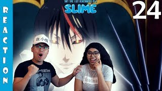 That Time I Got Reincarnated As A Slime Episode 24 Reaction and Review SHIZU VS KURO! KURO IS CRAZY!