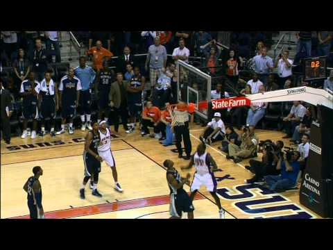 Jason Richardson alley-oop forces OT
