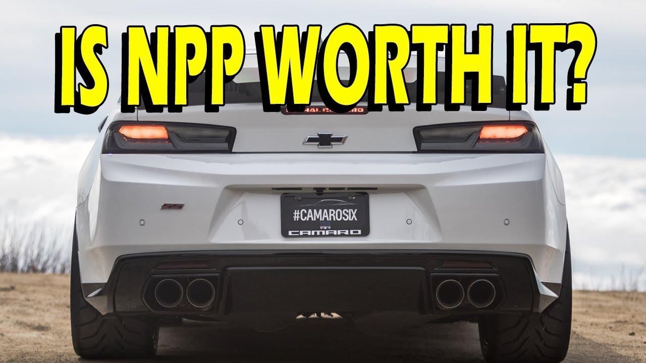camaro ss and lt is dual mode exhaust npp worth it