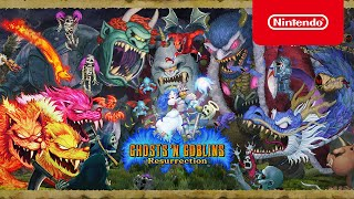 Ghosts 'n Goblins Resurrection - Launch Trailer - Nintendo Switch