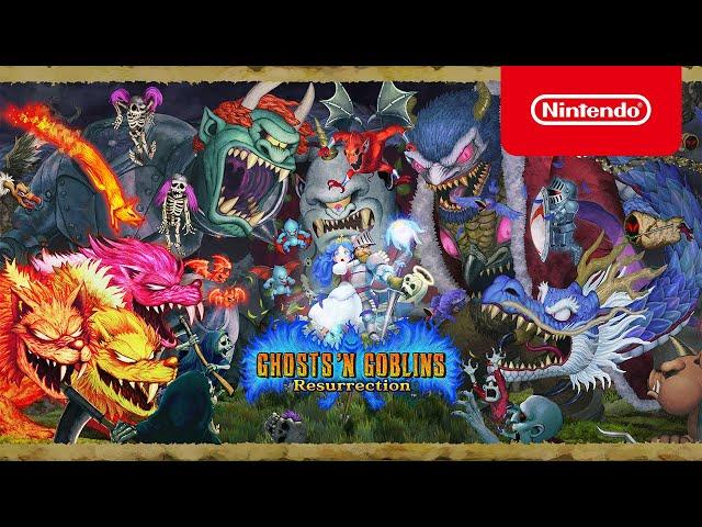 Ghosts 'n Goblins Resurrection - Launch Trailer - Nintendo Switch