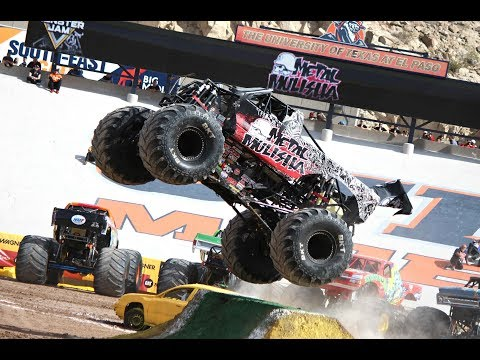 Monster Jam Highlights El Paso *Both* Shows 2017