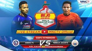 FULL!! AREMA FC VS PERSIJA JAKARTA (FT:1-1) - Bejo Jahe Merah Piala Gubernur Jatim 2020
