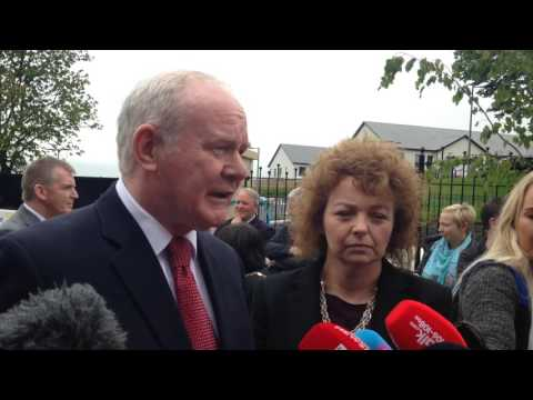 Martin McGuinness refuses to 'score political points' over Brexit letter to PM Theresa May