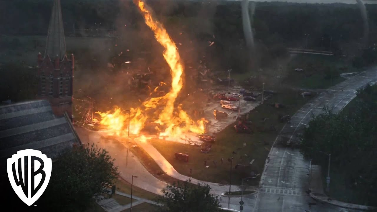 Into The Storm Firenado Available YouTube - This slow motion fire tornado is the coolest thing youll see all day