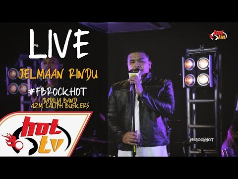 (LIVE) JELMAAN RINDU - DADILIA BAND X AZMI CALIPH BUSKERS : FB ROCK HOT