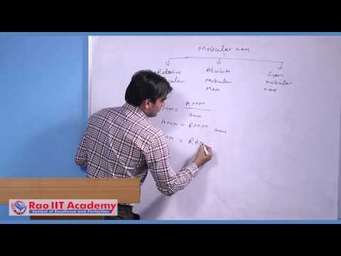Mole Concept (Part 1) - IIT JEE Main and Advanced Chemistry Video Lecture