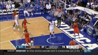 Big Dakari Johnson with the Wildcat Dunk