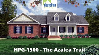 Hpg-1500-1 1,500 Sf, 3 Bed, 2 Bath Traditional House Plan By House Plan Gallery