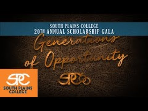 The South Plains College 2018 Scholarship Gala