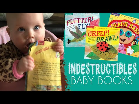 Indestructibles Baby Books Review - Chew-proof, Drool-proof, Non-toxic