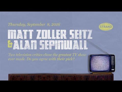 Alan Sepinwall & Matt Zoller Seitz | TV (The Book)