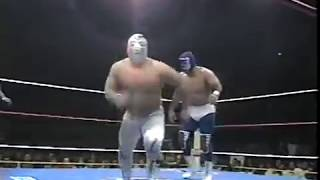 Blue Panther Vs. Super Astro   Mexican National Middleweight Title
