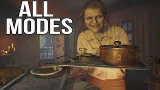 Resident Evil 7 - Banned Footage FULL GAME All Modes Walkthrough PS4 Pro Gameplay