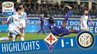 Fiorentina - Inter 1-1 - Highlights - Giornata 20 - Serie A TIM 2017/18