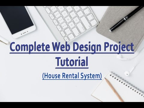 Complete Web Design Project Tutorial - House Rental System