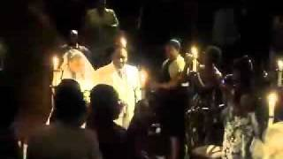 Curtis Eubanks sings Brian McKnight Still in Love at Wedding