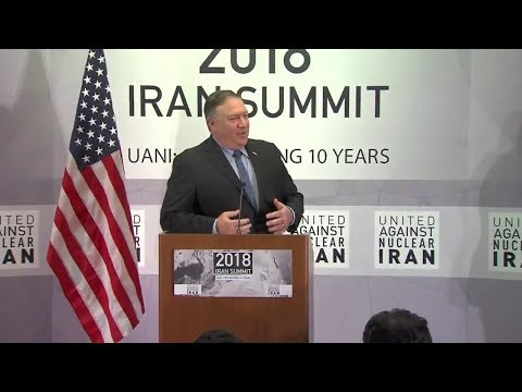 Secretary Pompeo Delivers Remarks at the United Against Nuclear Iran Summit