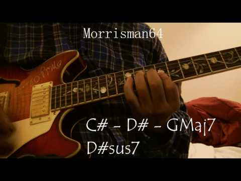 DONALD BYRD Places and Spaces   Guitar Chords Lesson
