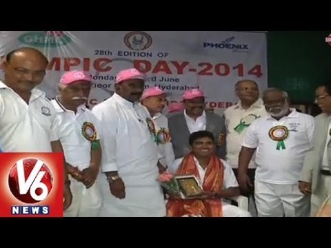 Olympic Run Celebrations In Hyderabad - First Celebration In Telangana After The Bifurcation