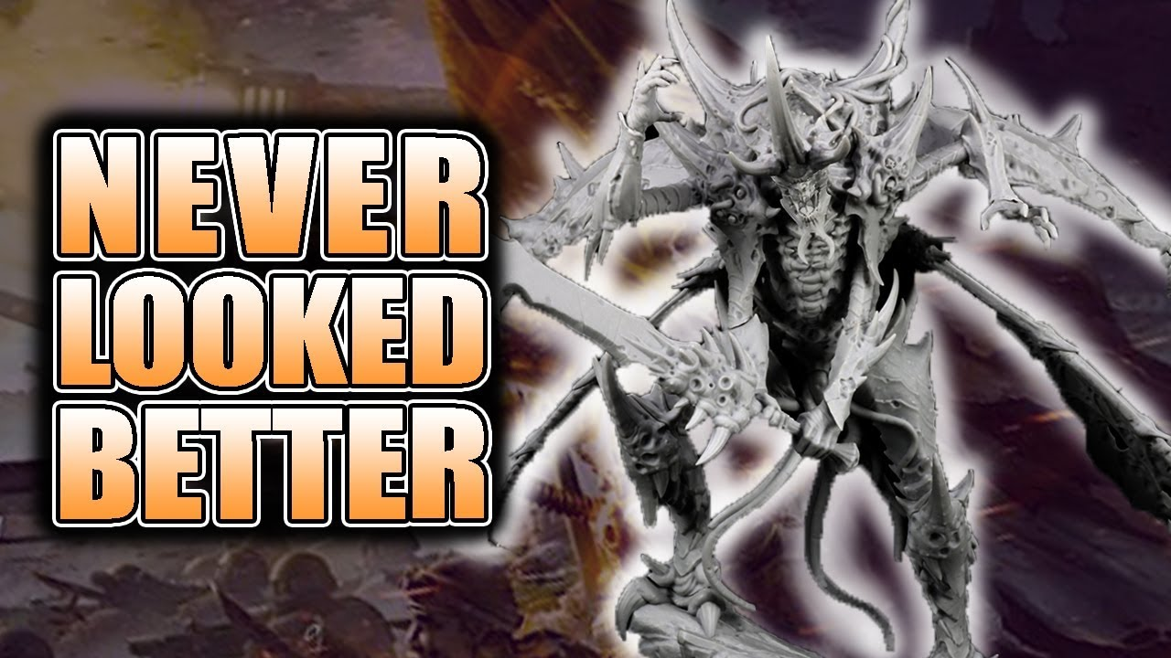 Tyranids Never Looked So Good: Lord of Sorrows Unbox