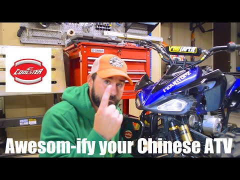 Chinese ATV 101 - Making a Coolster 125 better -- Chinese