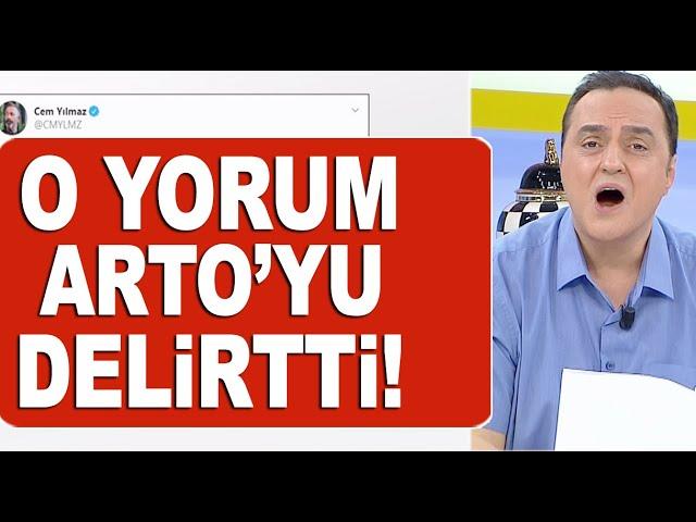Cem Yılmaz'a yapılan eleştiri Arto'yu çılgına çevirdi!