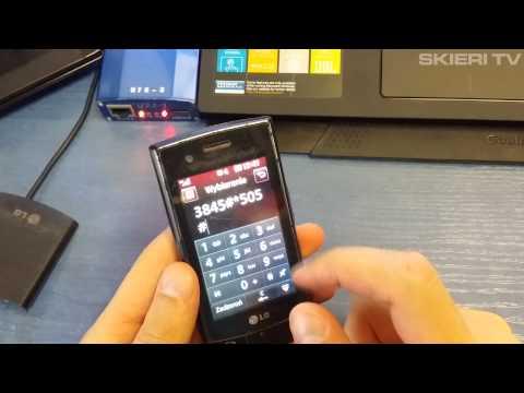 Hard reset LG GT540