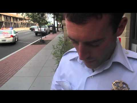 Thumbnail: My encounter with Officer T.W. Twiname - Badge #696 - of the US Park Police