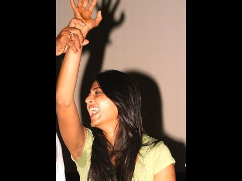 $ $ Anushka Sexy hot wet armpits lifted by the hero in the function exposing very romantic