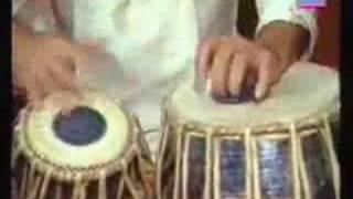 Ustad Zakir Hussain -- Vintage Teental Solo