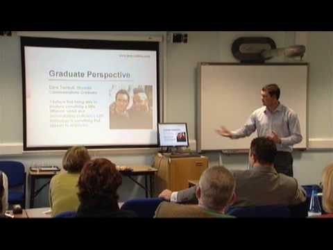 E-portfolio learning lunch - Ben Cotton's Presentation