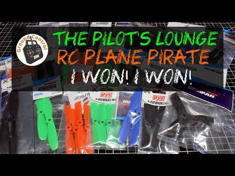 The Pilot's Lounge - Episode 2 - RC Plane Pirate Contest Win!