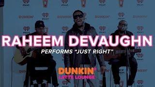 Raheem DeVaughn Performs 'Just Right' Live   DLL