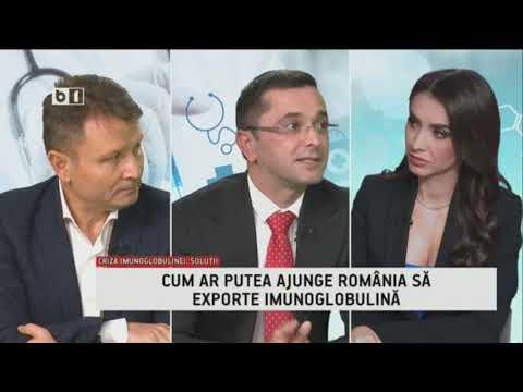 EMISIUNEA 360MEDICAL - B1TV - CRIZA IMUNOGLOBULINEI  Partea A Doua -  22 DEC 2019