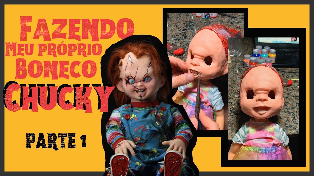 Download PARTE 1 / FAZENDO MEU PRÓPRIO BONECO CHUCKY - PARTE FINAL NA DESCRIÇÃO