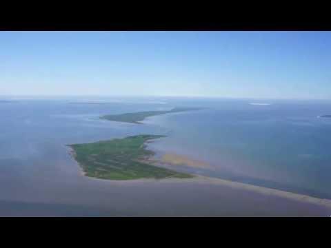 Rundflug über die Küste und Halligen von Schleswig-Holstein