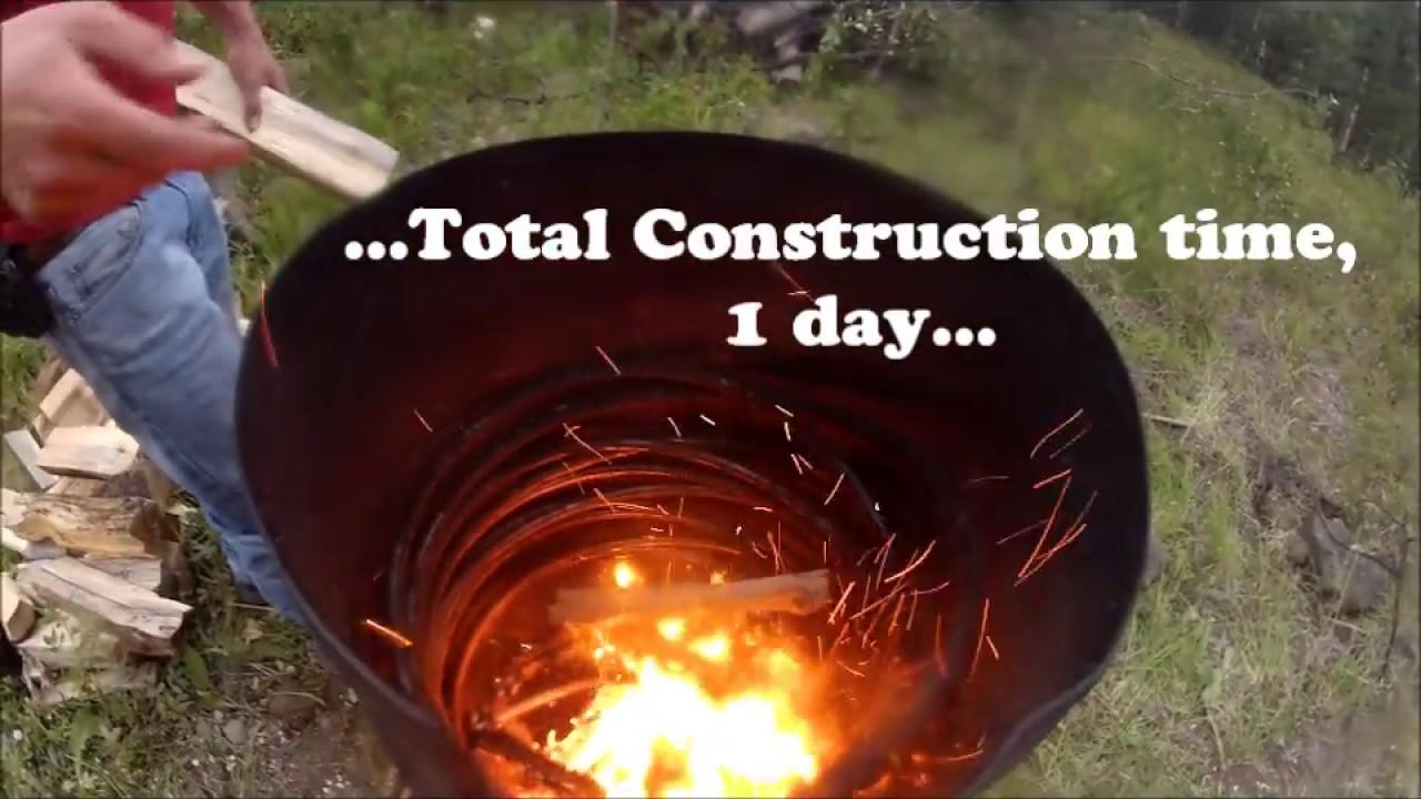 Wood Burning Hot Tub Youtube