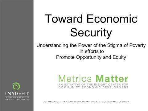 Toward Economic Security