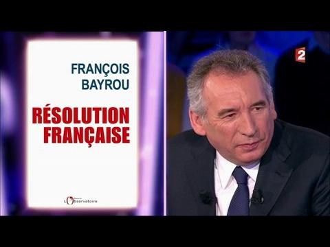 François Bayrou - On n'est pas couché 4 février 2017 #ONPC