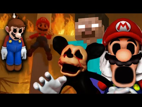 THESE .EXE GAMES ARE TAKING IT TOO FAR! - SCARY .EXE GAMES IN DREAMS [Mario.EXE, Suicide Mouse, Etc]