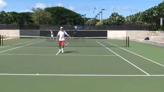 Tennis Sneak Attack - Brian Gottfried