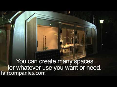 A prefab, modular, marine-inspired, 12V tiny space