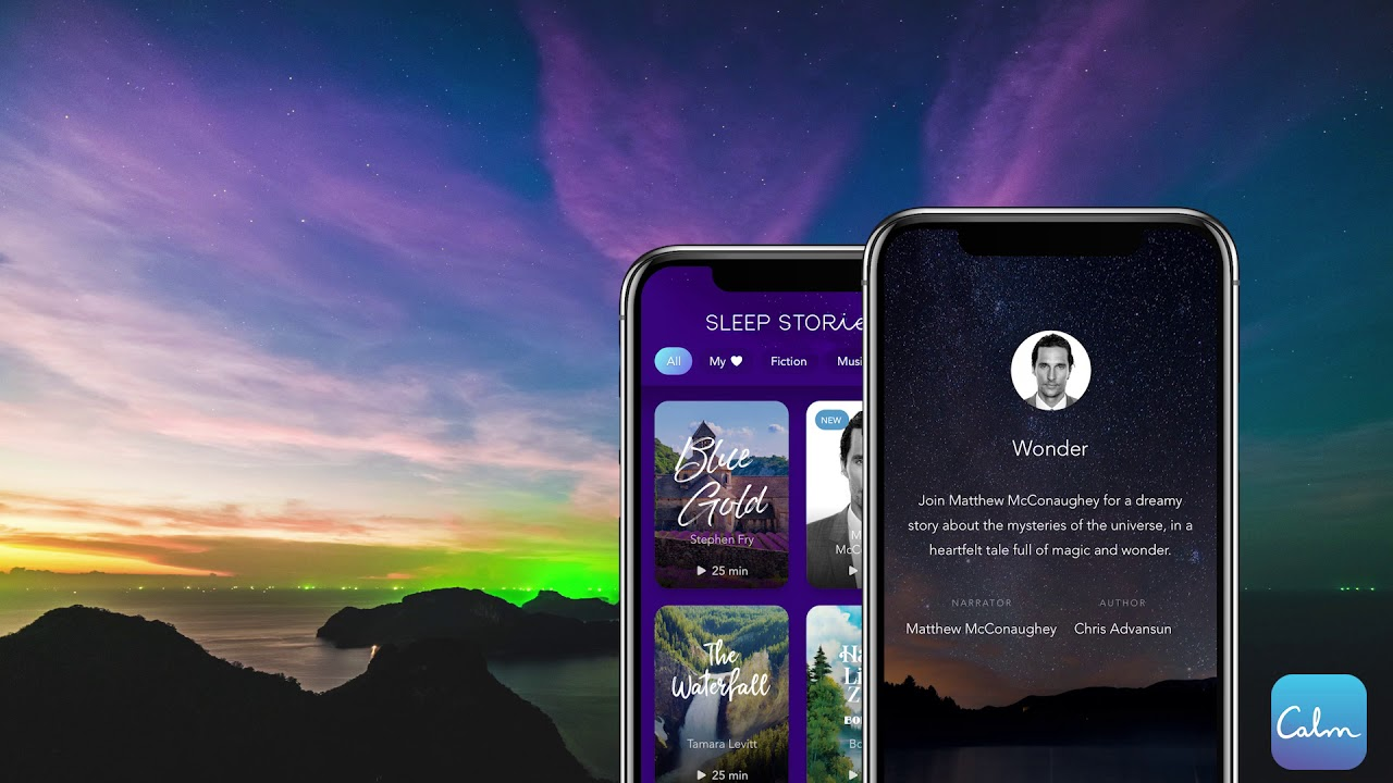Matthew McConaughey Reads Bedtime Story for Calm App – Variety