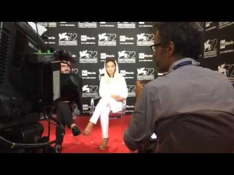 Niki karimi, Venice film festival 2015نیکی کریمی جشنواره  ونیز ..