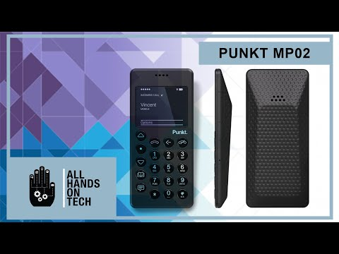 Punkt CEO Goes Hands-on With MP02 Minimalist Mobile Phone